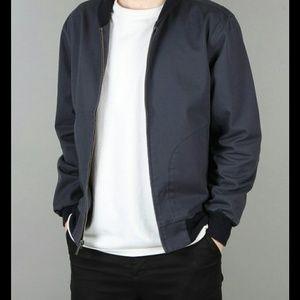Brixton bard jacket navy medium